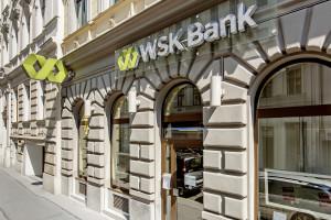 Bildunterschrift: Eine Filiale der WSK Bank AG in der Gentzgasse in Wien Währing. ©WSK Bank