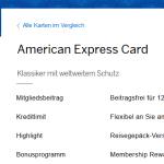 American Expres Green Card Kreditkarte – Vorteile